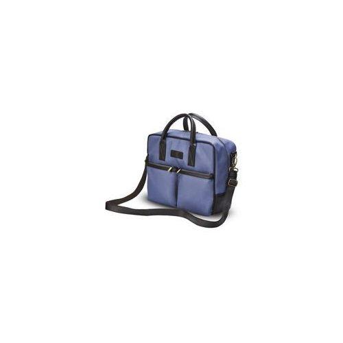 Męska torba na laptopa  s23 niebieska marki Solier
