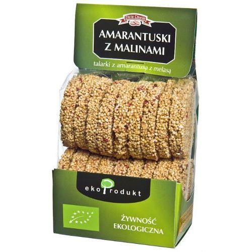 Ekoprodukt (ciastka, chlebki, musli) Amarantuski z malinami bio 90 g - ekoprodukt