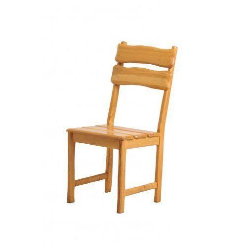 Krzesło drewniane dębowe RUSTICA