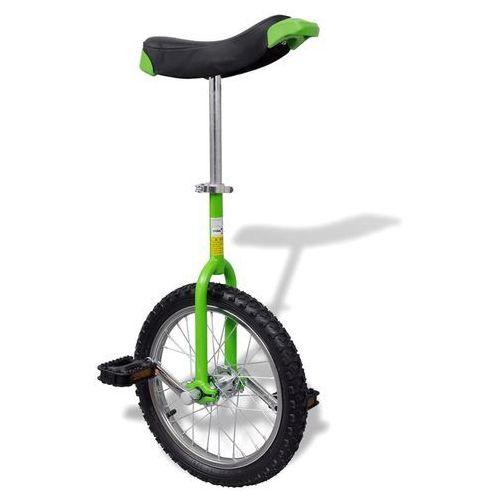 zielony unicykl, 16 cali marki Vidaxl