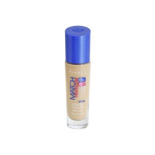 Rimmel Match Perfection podkład w płynie SPF 20 odcień 200 Soft Beige 30 ml