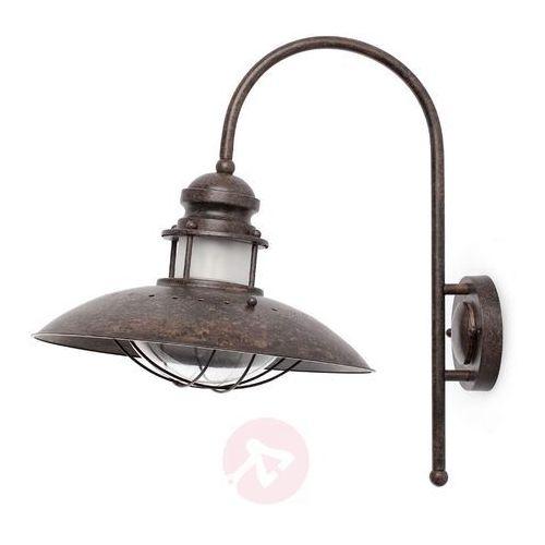 Faro barcelona Faro winch lampa ścienna oksydowane, tytan, 1-punktowy - przemysłowy - obszar wewnętrzny - winch - czas dostawy: od 2-3 tygodni