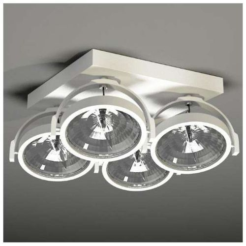 Plafon LAMPA sufitowa SAKURA 2237/G53/BI Shilo reflektorowa OPRAWA ruchoma biały