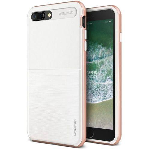 Etui VRS Design High Pro Shield S iPhone 8/7 Plus White Rose (8809477688108)