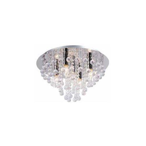 Reality Plafon lampa kryształowa sufitowa london 5x40w e14 chrom 607205-06 >>> rabatujemy do 20% każde zamówienie!!! (2019762203237)