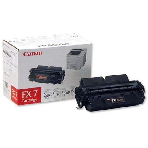 Wyprzedaż oryginał toner fx7 7621a002ba do faksów canon fax l2000l l2000ip   4 500 str.   czarny black, pudełko otwarte marki Canon