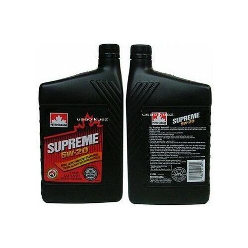 Olej silnikowy mineralny supreme 5w20 1l marki Petro-canada