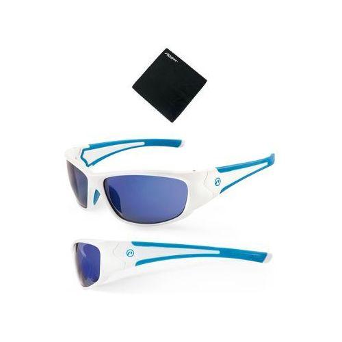610-40-81_acc okulary freak biało-niebieskie marki Accent