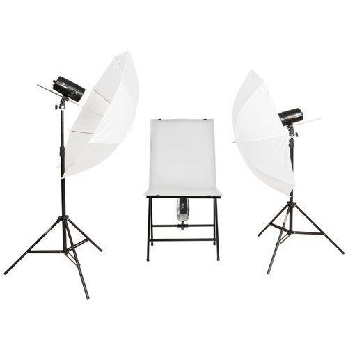FreePower Stół bezcieniowy 3x100Ws do fotografii produktowej - produkt z kategorii- Sprzęt bezcieniowy