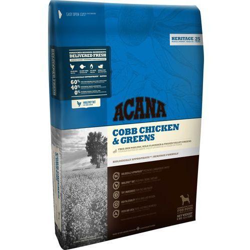 heritage adult cobb chicken & greens 17kg, marki Acana