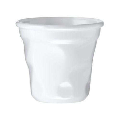 Kubek gnieciony jednorazowy biały - 12 szt.