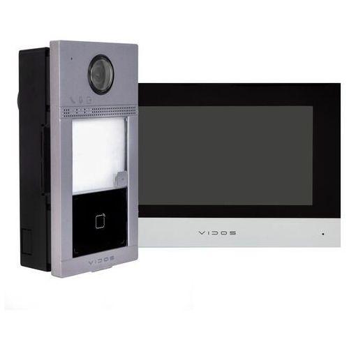 Zestaw podtynkowy wideodomofonu ip czytnik rfid monitor 7'' marki Vidos