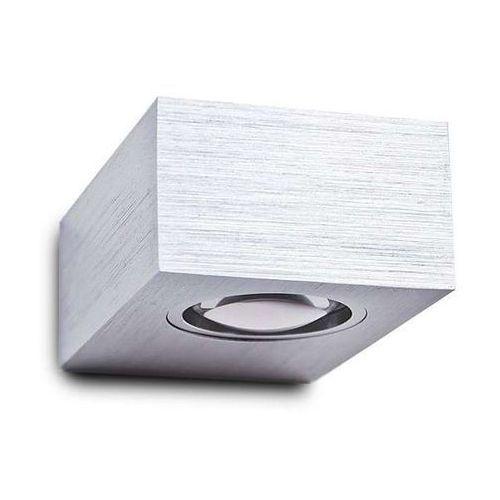 Kinkiet LAMPA ścienna POTRO 1 MB3357/1 Azzardo metalowa OPRAWA LED 3W prostokątna aluminium