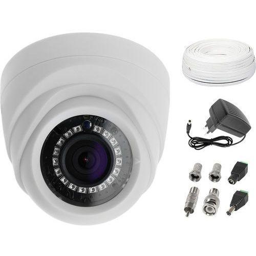 Zestaw monitoringu mieszkania biura 1 kamera do tv marki Ivelset