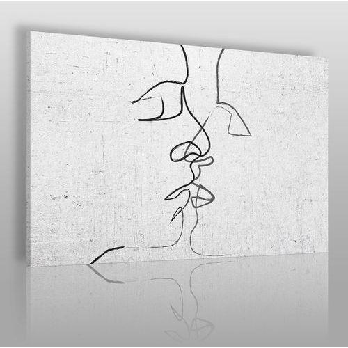 Pętla egzystencji - nowoczesny obraz na płótnie