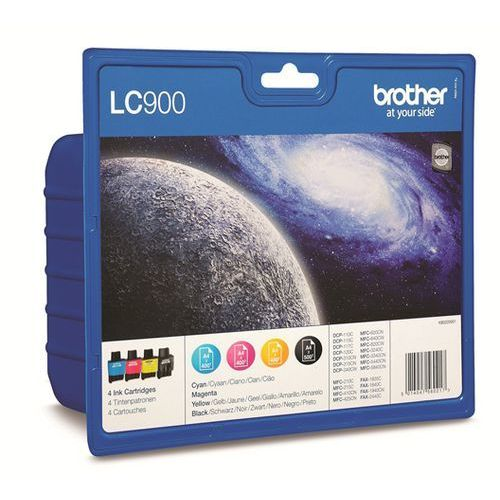 Brother tusze atramentowe Rainbow Pack LC900VALBP LC-900VALBP