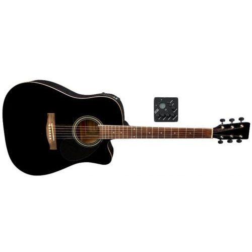 (ps501326) gitary elektroakustyczne vgs d-10 ce czarny marki Gewa