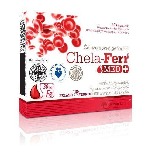 Chela-Ferr MED 30 kapsułek Olimp (lek witaminy i minerały)