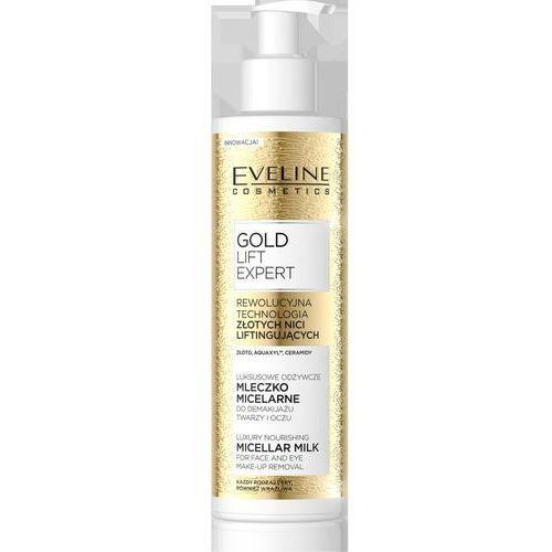 gold lift expert luksusowe odżywcze mleczko micelarne do demakijażu 200ml marki Eveline