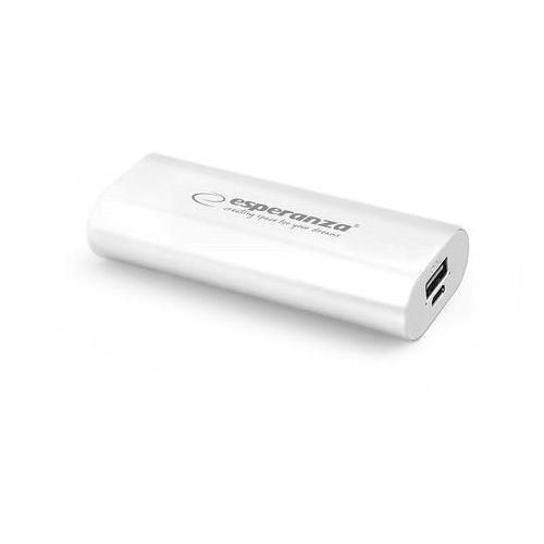 Ładowarka akumulator ESPERANZA POWER BANK HADRON 4400mAh - biały