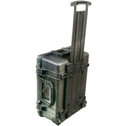 Peli 1560 walizka na aparat bez Foam Czarny, 1560-001-110E