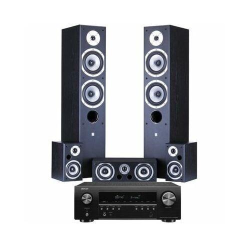 Kino domowe DENON AVR-S650H + WILSON Movix Czarny (2904799447658)
