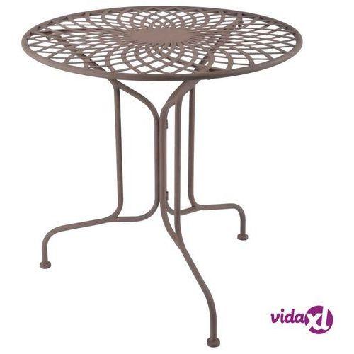 Esschert Design Stół metalowy, styl staroangielski, MF007 (8714982115561)