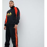Fila poly tricot joggers with taping in black - Black, kolor czarny