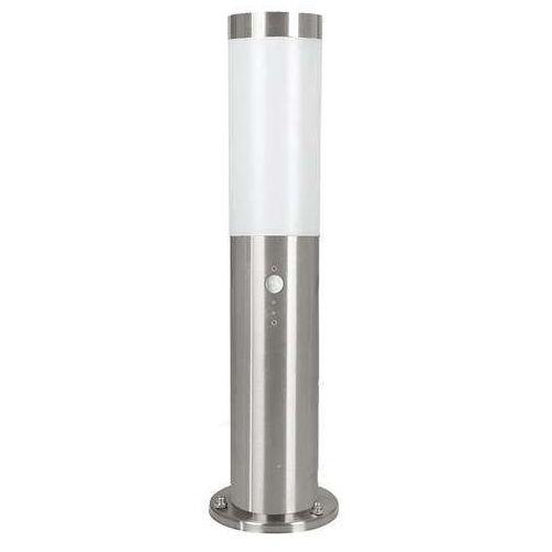 Lampa stojąca zewnętrzna ogrodowa helsinki 1x15w e27 z czujką ruchu ip44 satyna 83279 marki Eglo