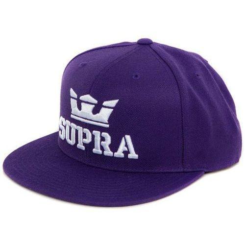 czapka z daszkiem SUPRA - Above Snap Purple/White-White (504) rozmiar: OS