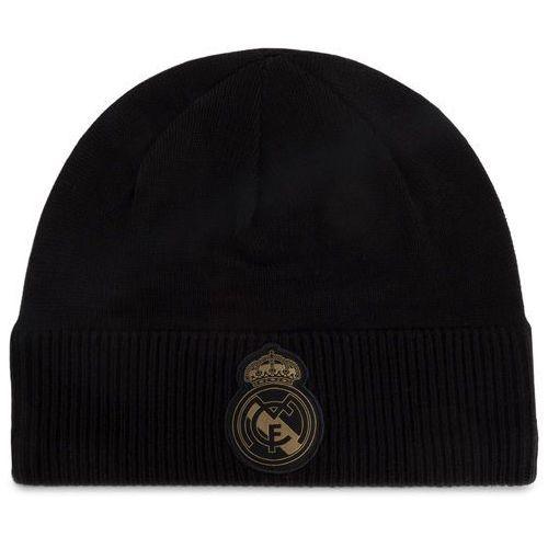 Czapka - real madrid climawarm beanie dy7727 black/drfogo marki Adidas