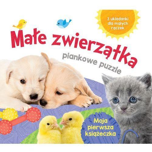 Praca zbiorowa Małe zwierzątka piankowe puzzle -