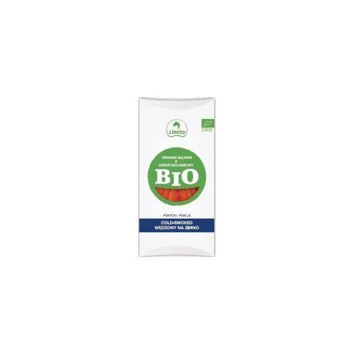 Łosoś norweski wędzony na zimno porcja bio 100 g - limito