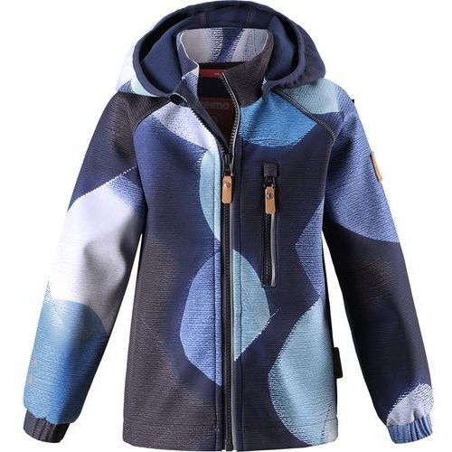Reima kurtka softshellowa Vantti navy, 140 cm, kolor niebieski