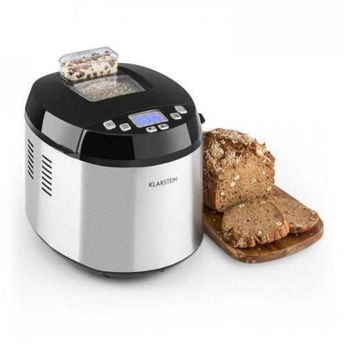 Klarstein Brotilde automat do pieczenia chleba wyświetlacz lcd 650w stal nierdzewna