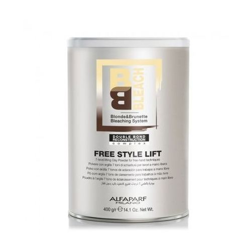 blonde&brunette bleaching system free style lift 7 - puder rozjaśniający do 7 tonów free style lift 400g marki Alfaparf milano