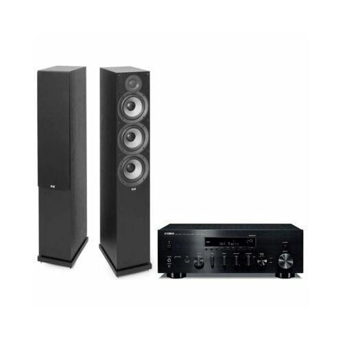 Zestaw stereo YAMAHA R-N803D + ELAC Debut F6.2 Czarny, R-N803 CZARNY ELAC F6.2