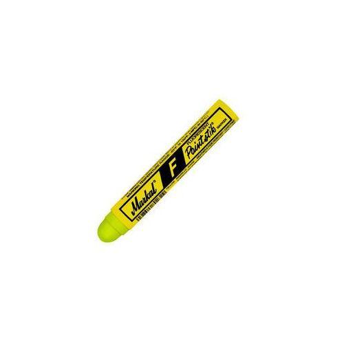 Markal F Paintstik lubryka beton stal żółty Fluo (0048615828312)