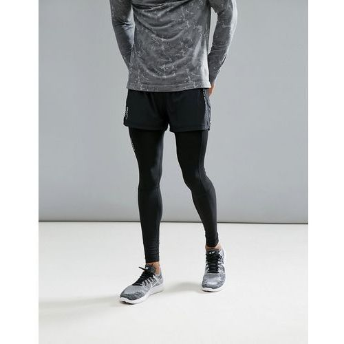 sportswear essential 5 inch running shorts in black 1904800-9999 - black, Craft