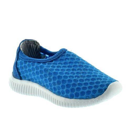 Adidasy dziecięce bn-40na - niebieski marki Apawwa