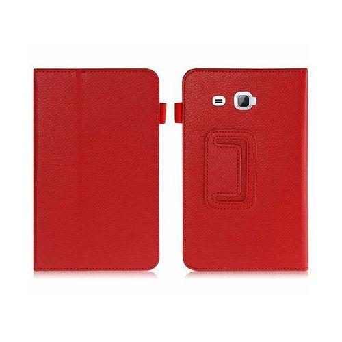 Etui STAND COVER Galaxy Tab A 7.0 T280, T285 Czerwone - Czerwony, kolor czerwony