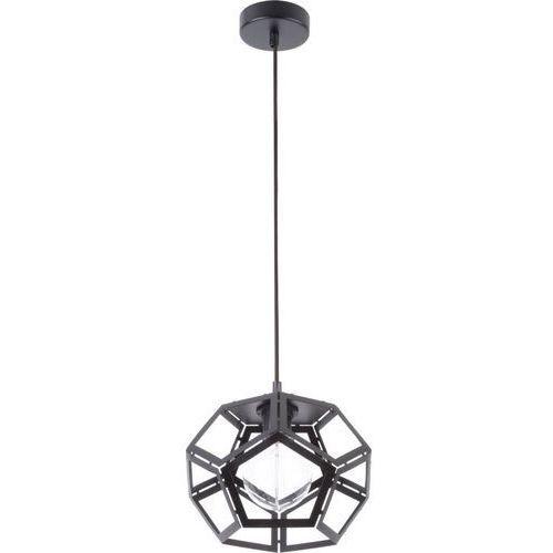 LAMPA wisząca ATO M 31877 Sigma geometryczna OPRAWA metalowy ZWIS loft czarny