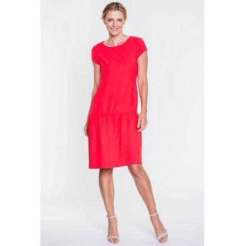 Czerwona sukienka - Far Far Fashion