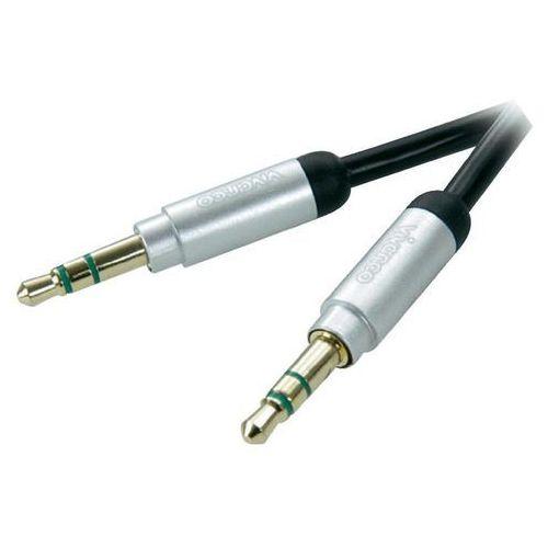 Kabel VIVANCO Jack 3.5 mm wtyk - 3.5 mm wtyk 0.3 m