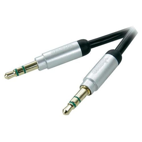 Vivanco Kabel  jack 3.5 mm wtyk - 3.5 mm wtyk 0.3 m (4008928310382)