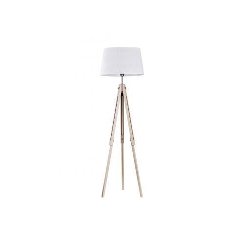 Lampa oprawa podłogowa stojąca tk lighting lorenzo 1x60w e27 biała 2972 marki Tklighting
