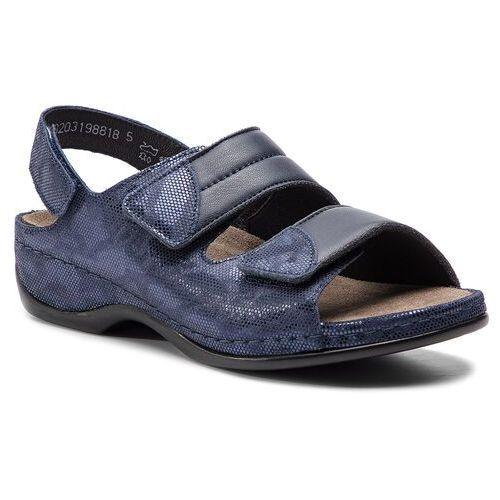 Sandały BERKEMANN - Sofie 01020 Blau/Wab/Shiny 319, 1 rozmiar