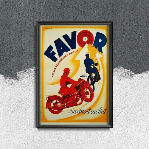 Plakat w stylu vintage Plakat w stylu vintage Fotografia Tour de France Charly Gaul