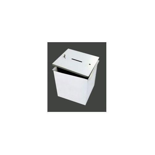 Urna do głosowania metalowa łatwo demontowalna - mała, 527103