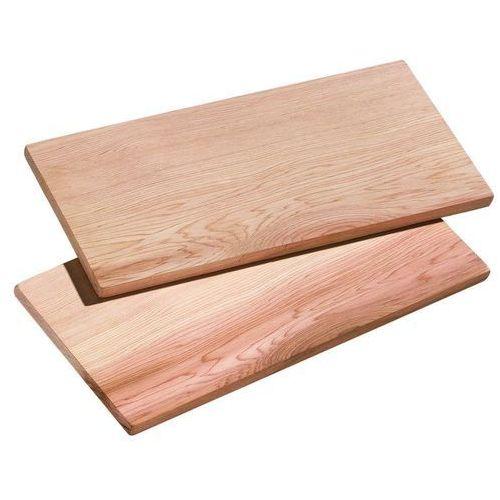 - smoky - deski do grillowania, 2 szt, 40,00 cm - 40,00 cm marki Kuchenprofi